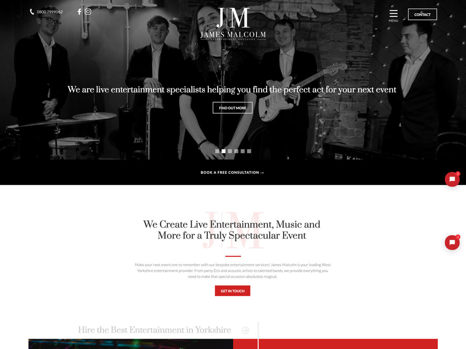 The JM website created by it'seeze York